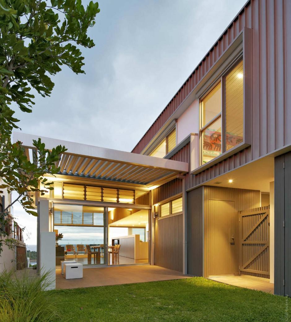 Дом на берегу моря в Сиднее