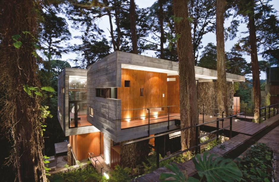 Огромная современная резиденция в Гватемале
