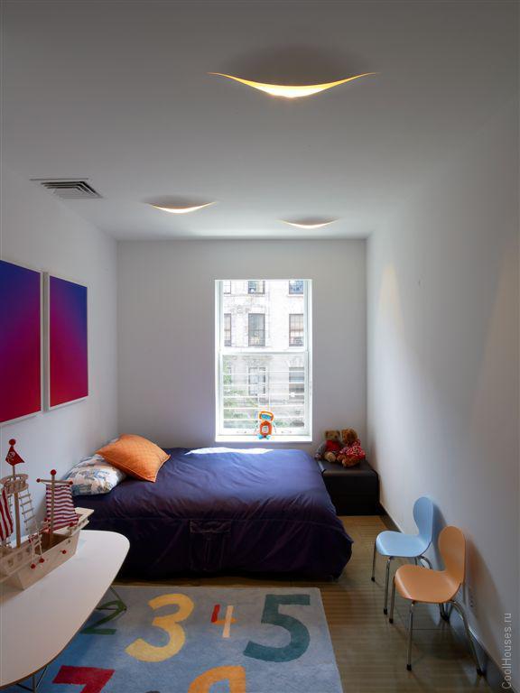 Редизайн квартиры и фасада в жилом доме в Нью-Йорке