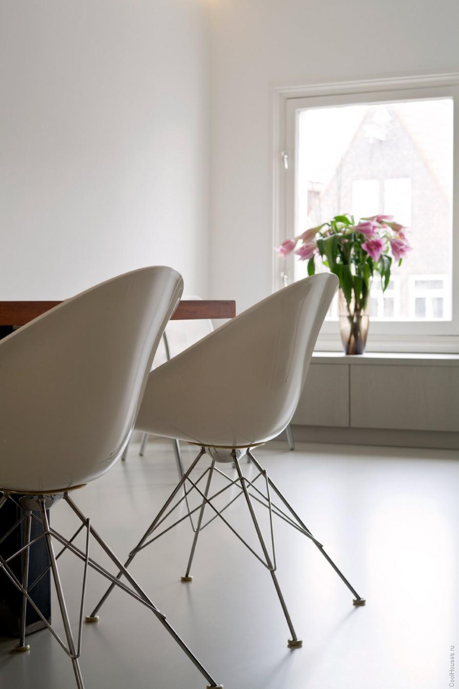 Редизайн старых апартаментов в Амстердаме