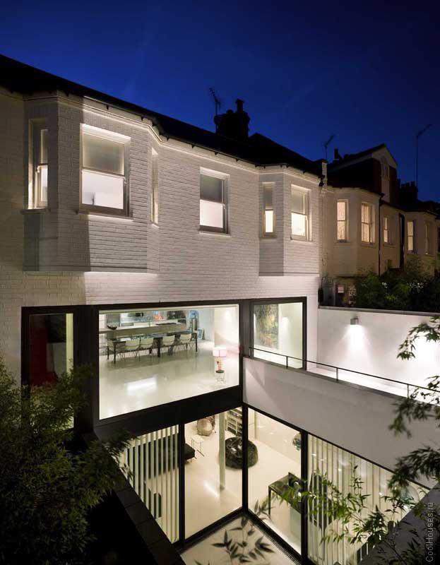 Современная городская резиденция в Лондоне