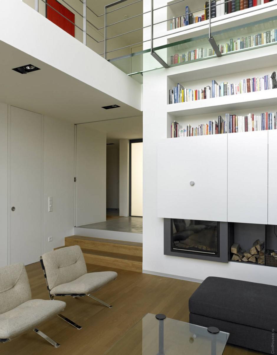Современный экологичный дом в Люксембурге