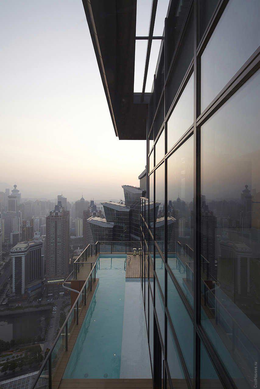 Современный пентхаус в Китае