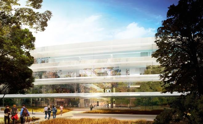 Apple's Headquarters - новая штаб-квартира Apple
