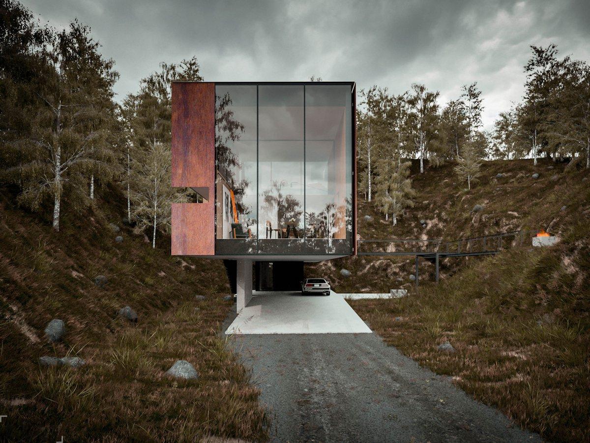 Необычный и уютный дом для фотографа в Уэльсе