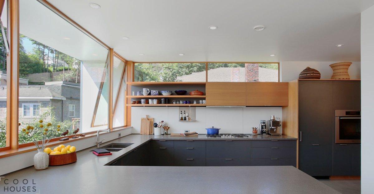 Современный семейный загородный дом в Сиэтле