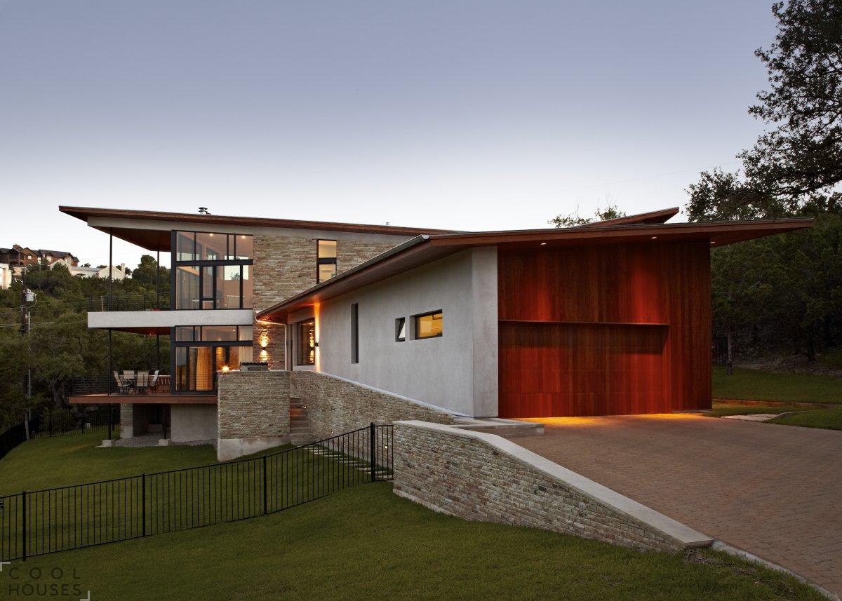 Загородный дом у озера. Штат Техас.