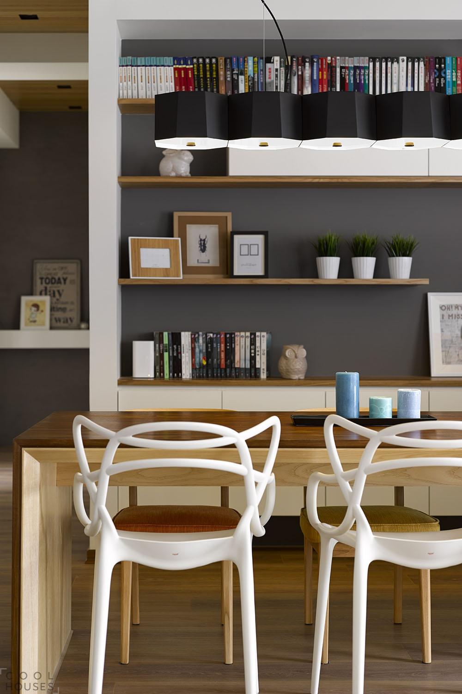 Интерьер квартиры в теплых тонах, выполненный студией HOYA Design