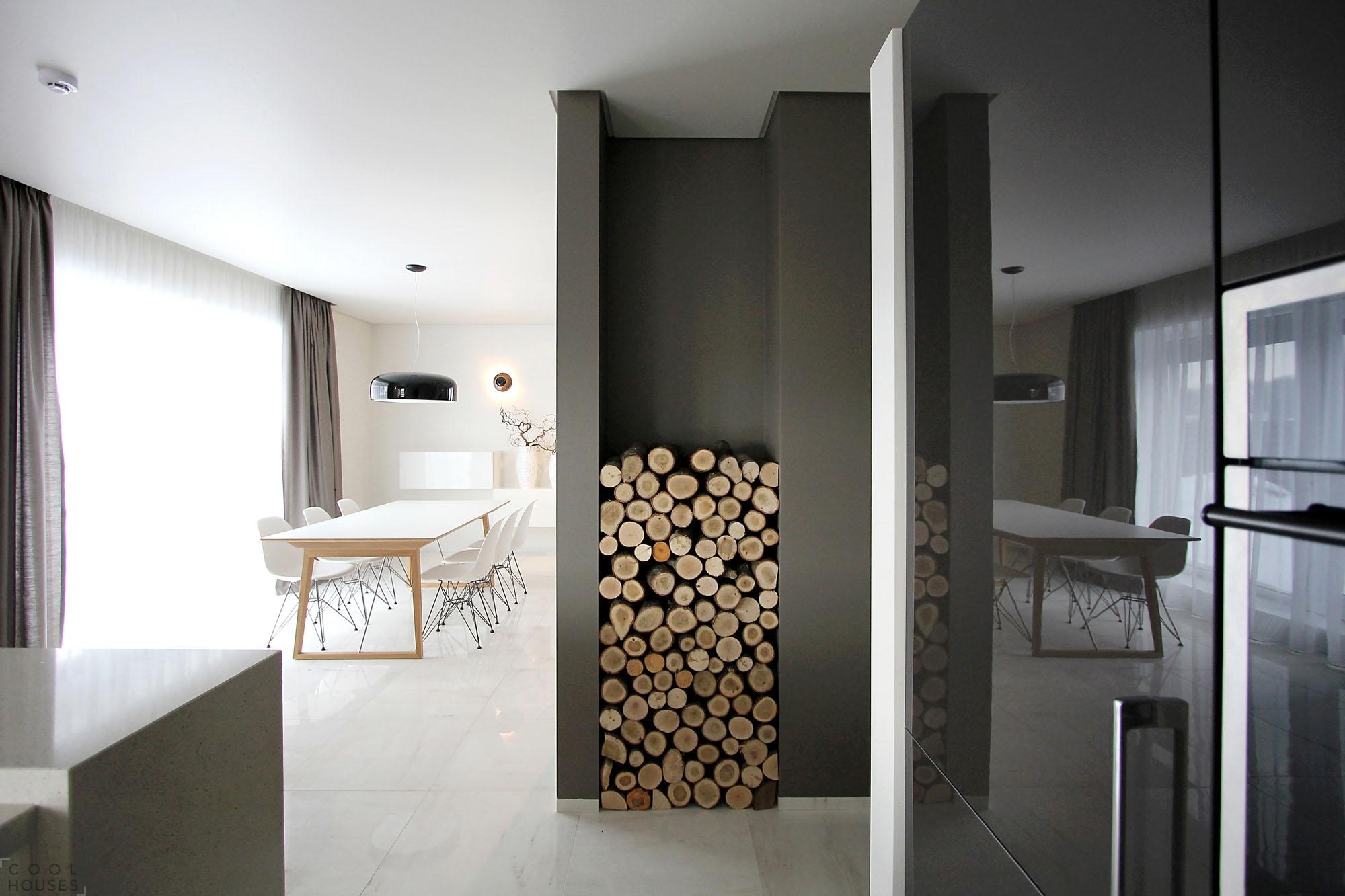 Интерьер загородного дома в Литве от дизайнера Ramunas Manikas