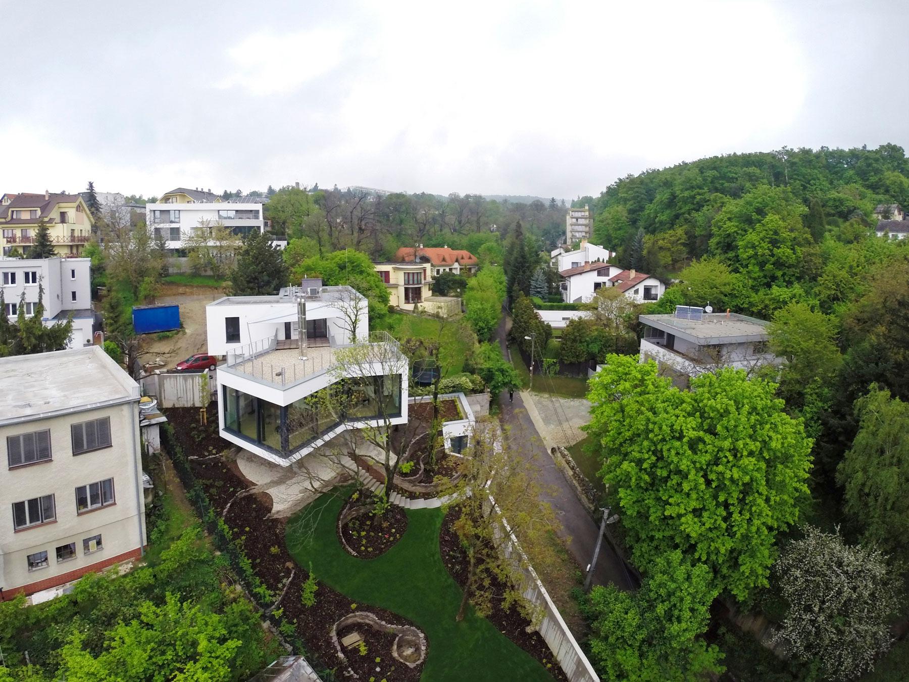 Оригинальный дом в центре Братиславы, Словакия