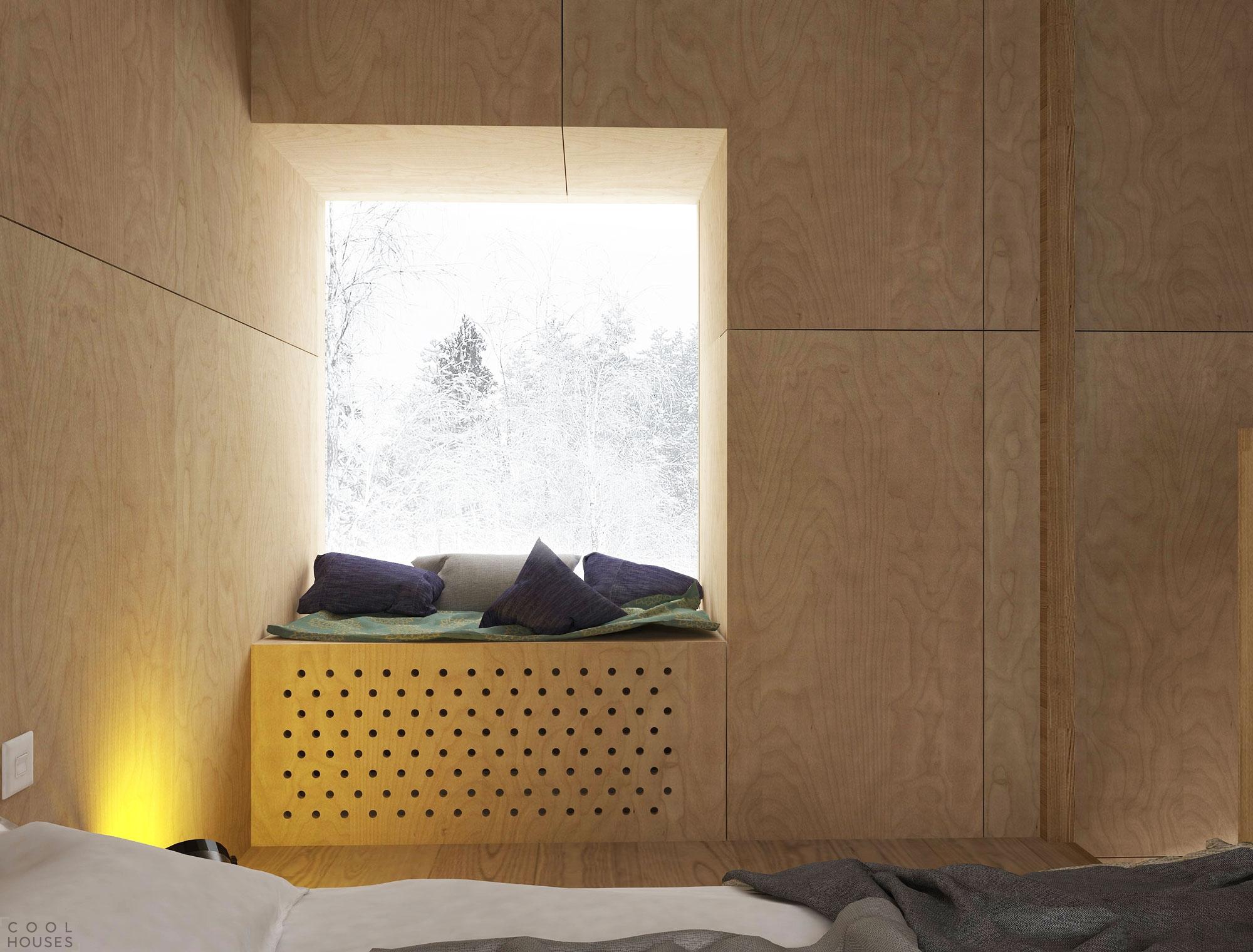 Проект курортных домиков для лыжников