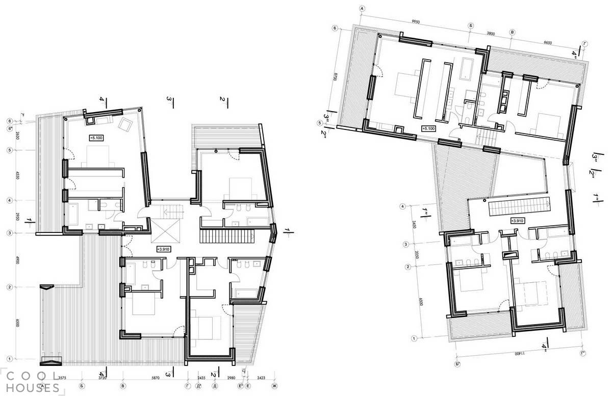 Современный загородный дом в Подмосковье от студии DNK