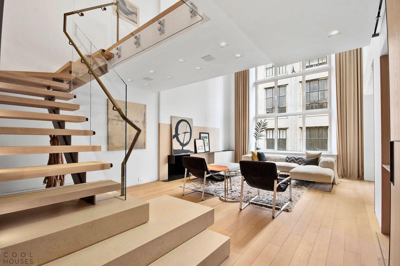 Уютный интерьер квартиры в Нью-Йорке