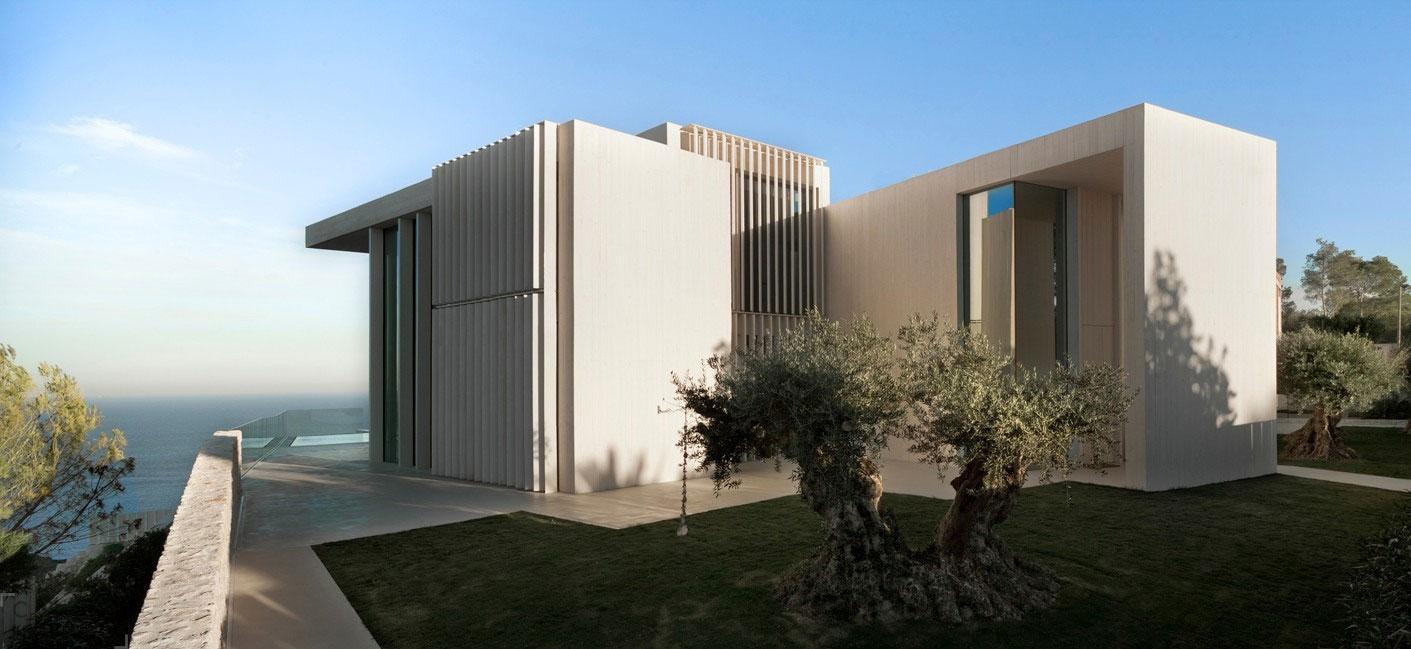 Великолепный дом Casa Sardinera с панорамным видом на Средиземное море