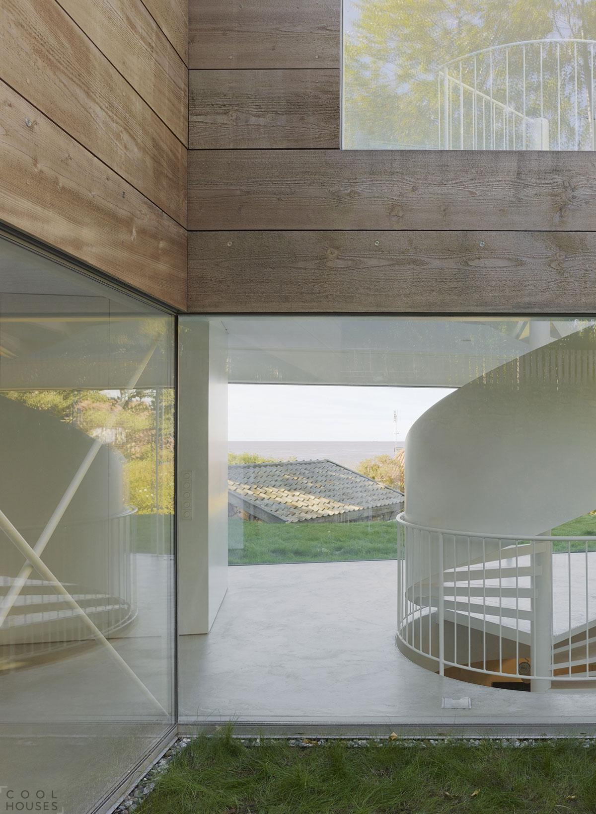 Загородный дом в прибрежном городе Мелле, Швеция
