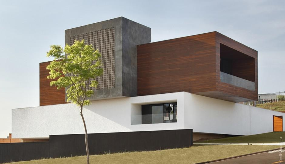 Креативный дом от студии Guilherme Torres
