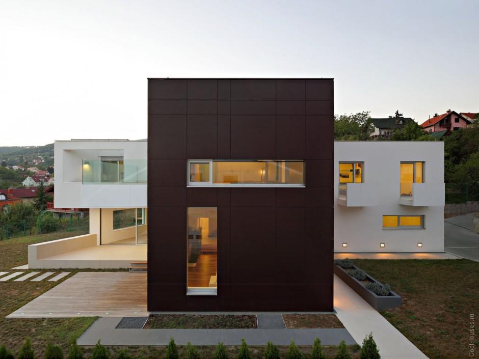 Cемейные модерн дом в Хорватии