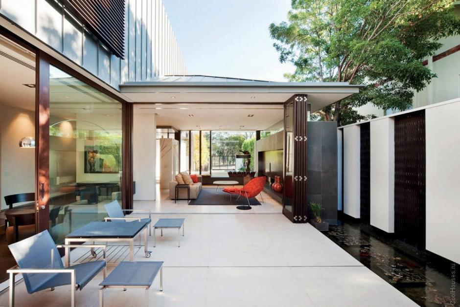 Дом в пригородной части Австралии