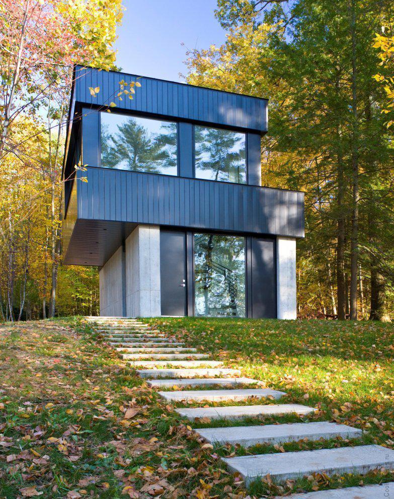 Модерн дом в живописной местности