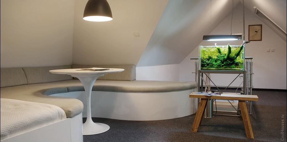 Современная квартира студия в Польше