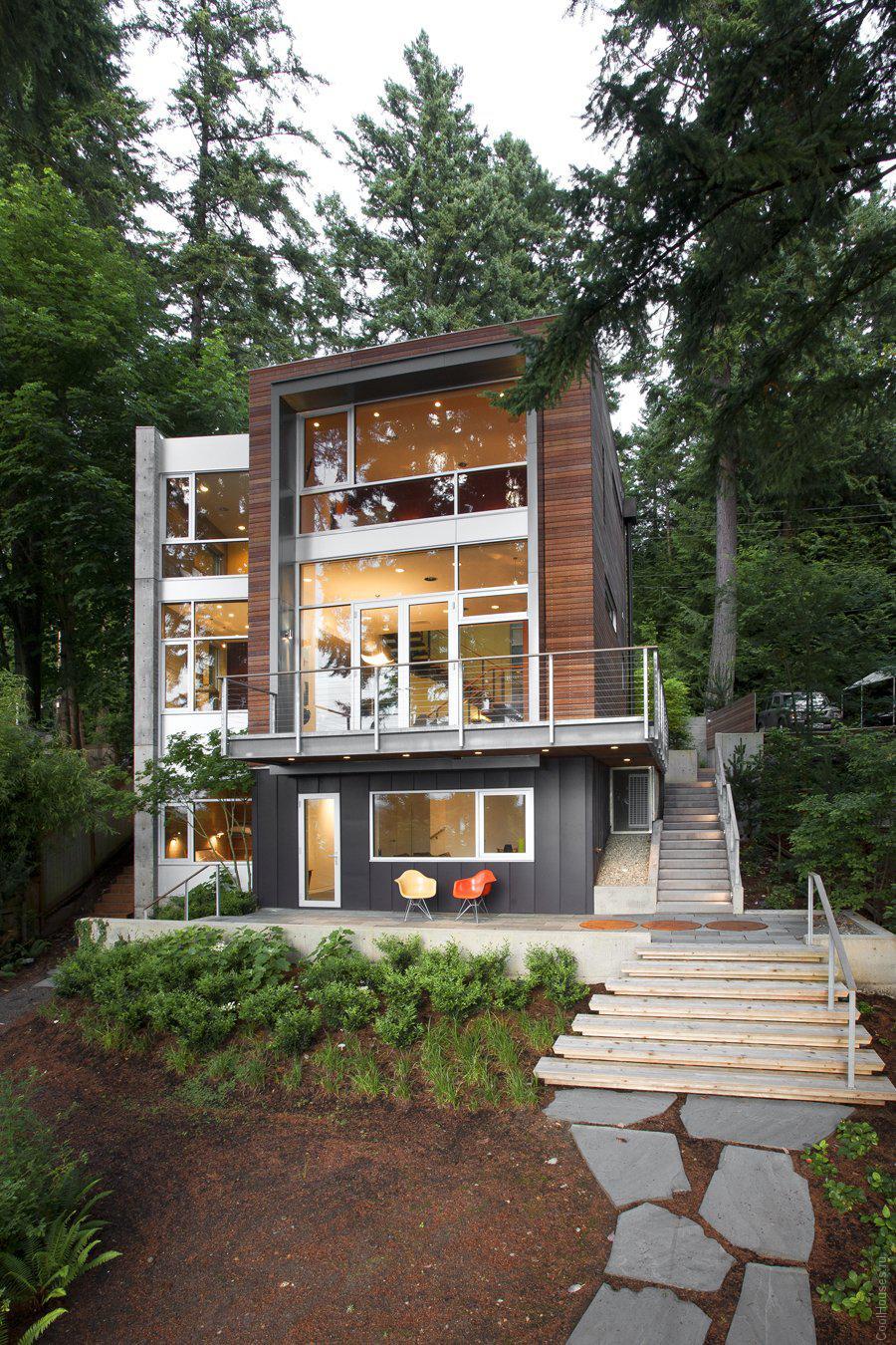 Уютный дом в штате Вашингтон