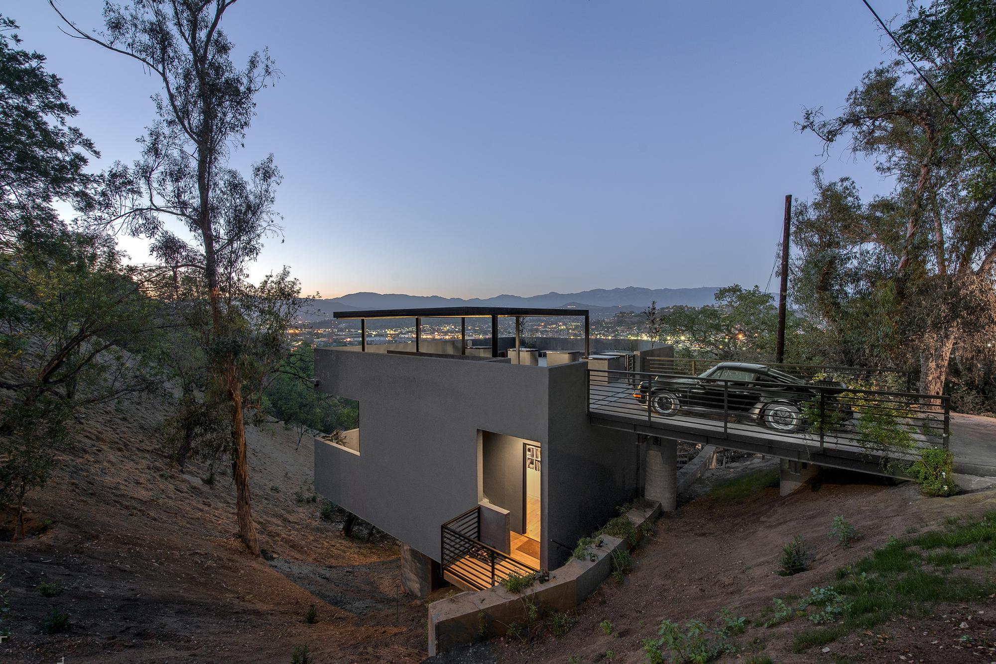 Car Park House: оригинальный дом в Лос-Анджелесе