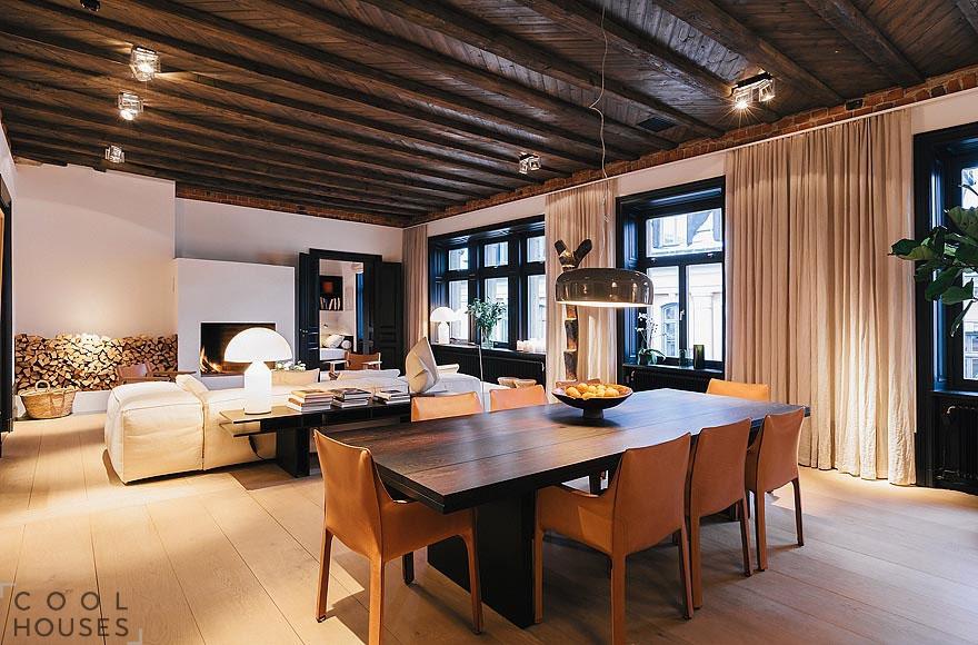 Элегантные двухэтажные апартаменты в Стокгольме