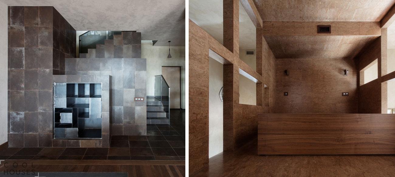 Фантастическая многоэтажная квартира в Москве