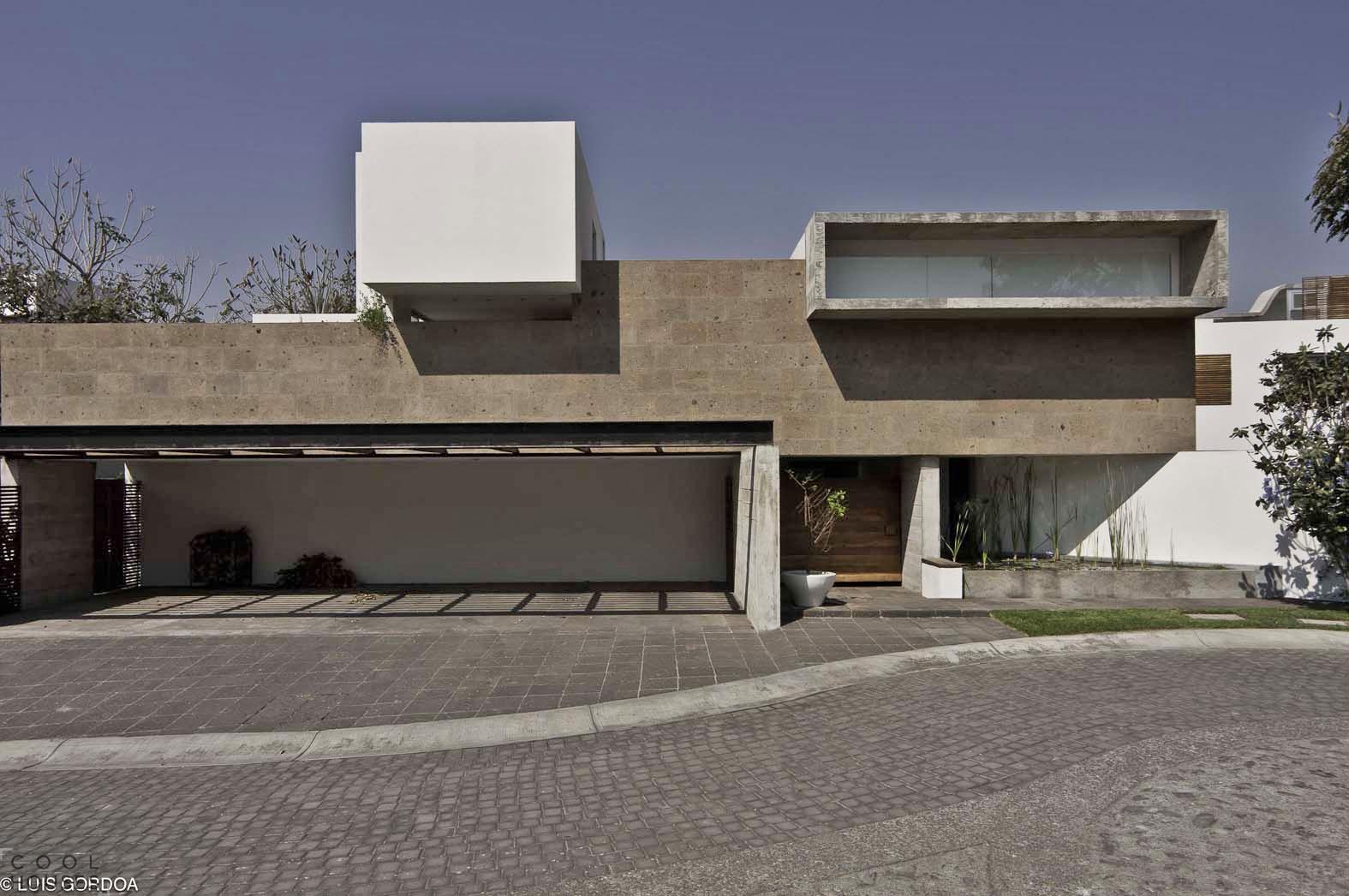Хай-тек дом Casa LQ20 в Мехико