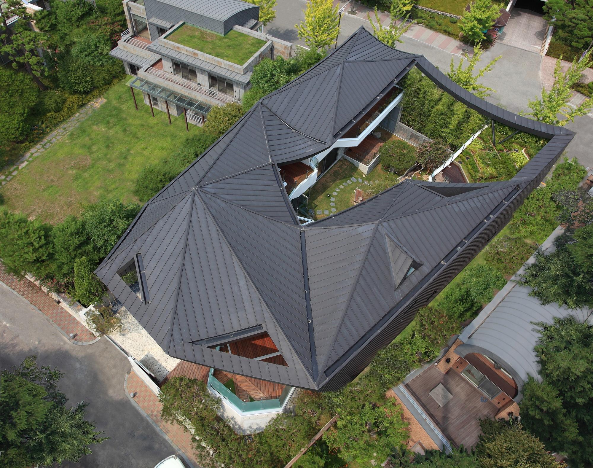 Оригинальная семейная резиденция в Южной Корее