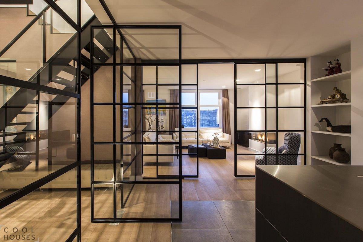 Современная квартира в Амстердаме DENOLDERVLEUGELS