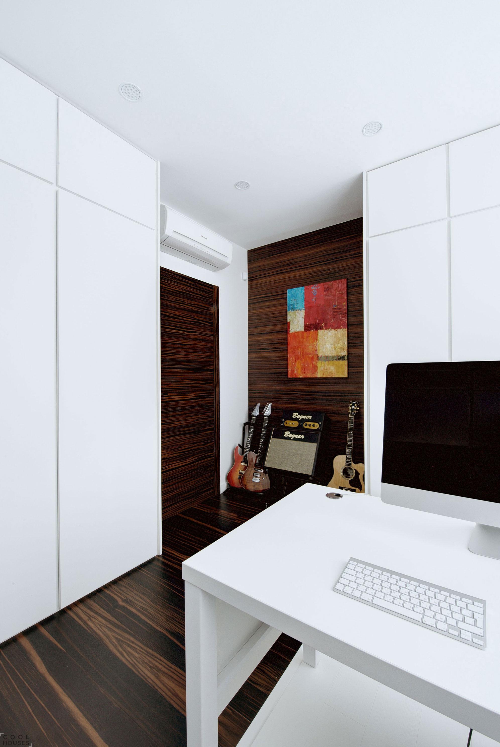 Современная квартира в Москве в стиле минимализма