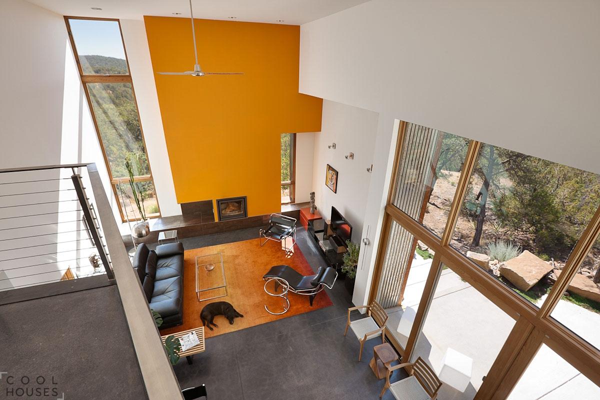 """Стильный и """"мощный"""" дом в Нью-Мехико, США"""