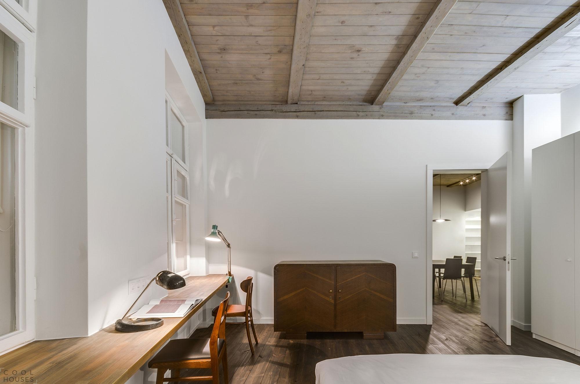 Квартира с красивым дизайном в старой части города Вильнюс, Литва