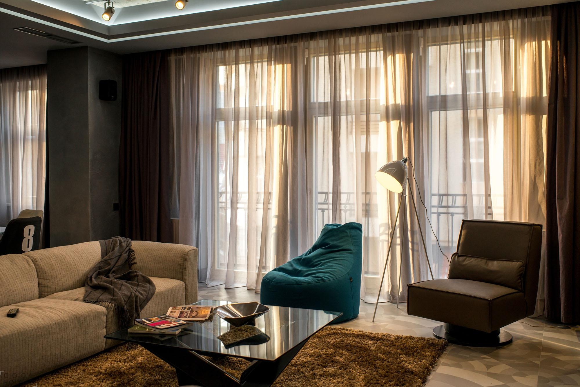 Квартира-студия с уютным интерьером, Украина