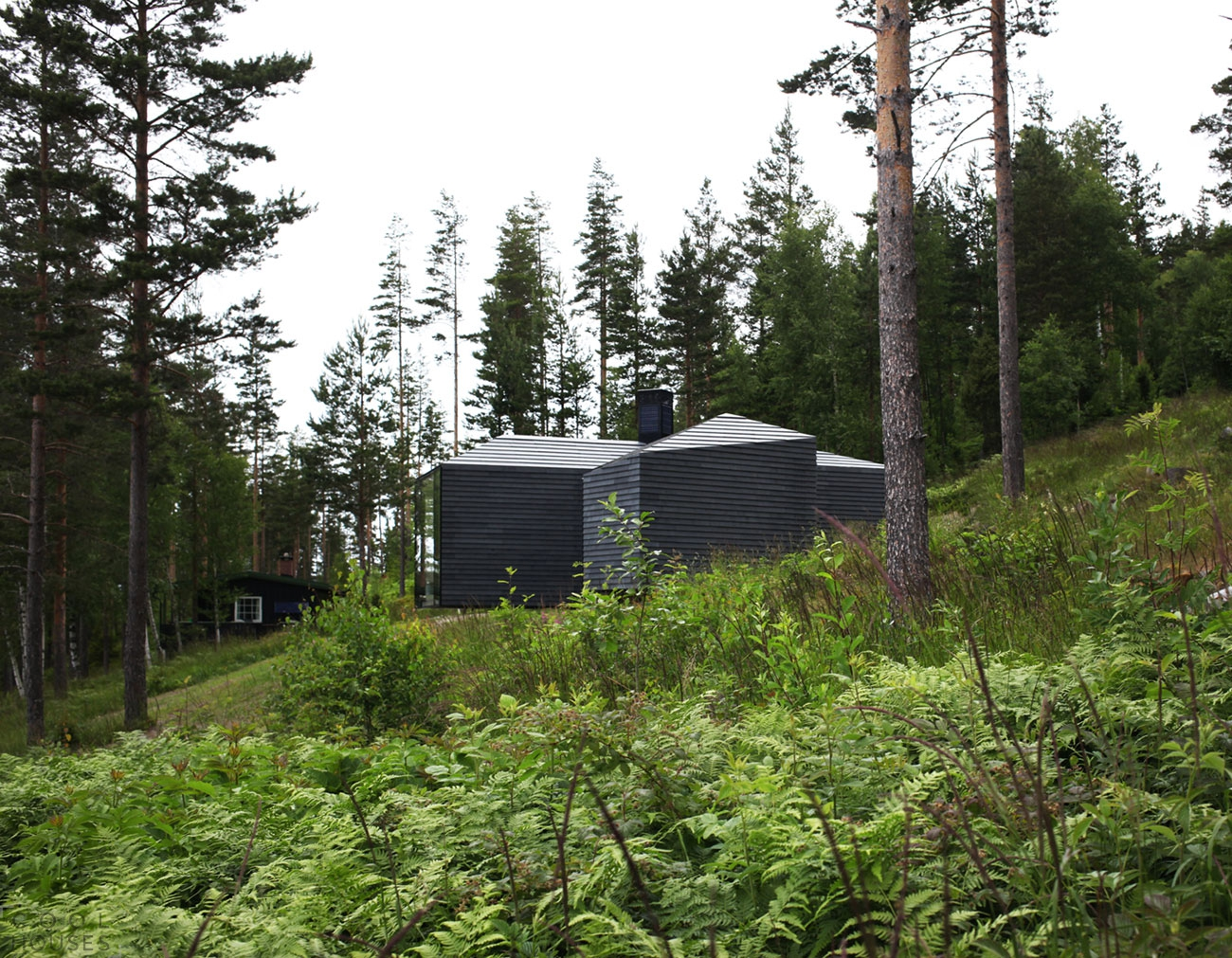 Очаровательный домик для отдыха на берегу озера Steinsfjorden, Норвегия