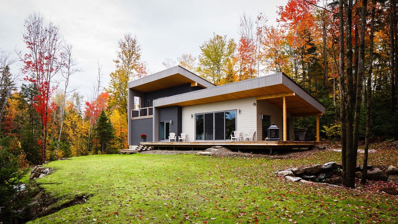 Очаровательный загородный дом в Канаде