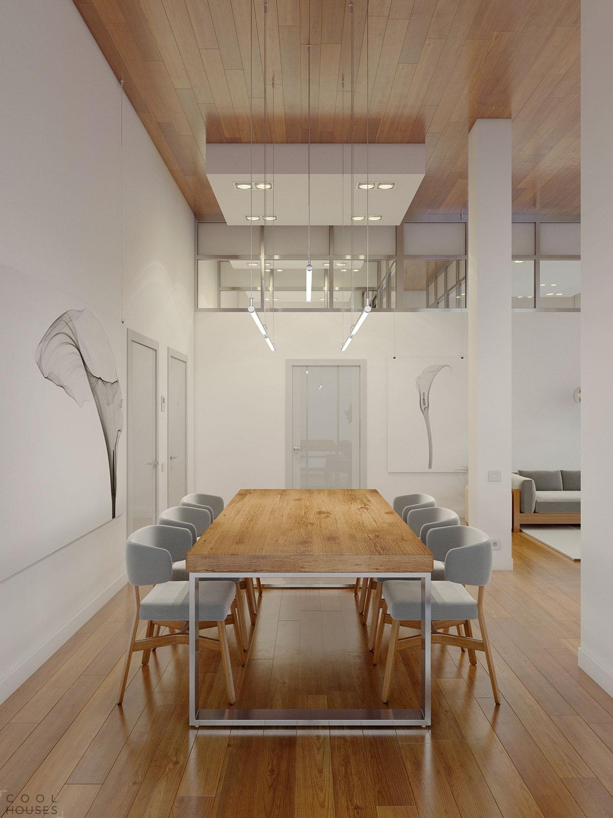 Проект дизайна квартиры-студии в стиле минимализма
