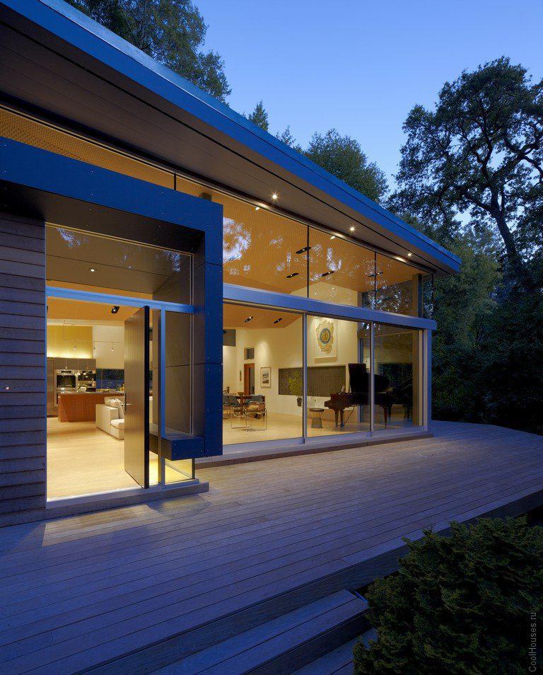 Уютный загородный дом в Калифорнии