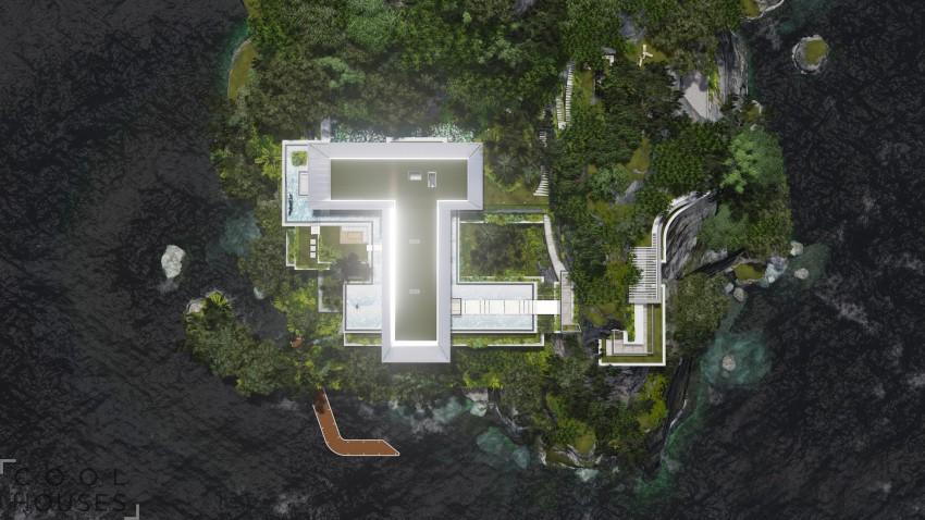 Дом мечты: эффектный дом на острове от студии Martin Ferrero Architecture