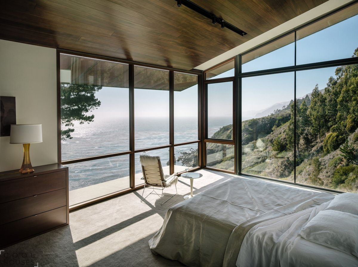 Дом на склоне у океана, Калифорния