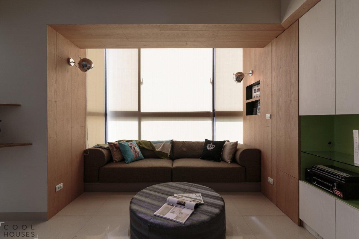 Интересный дизайн квартиры в Тайване