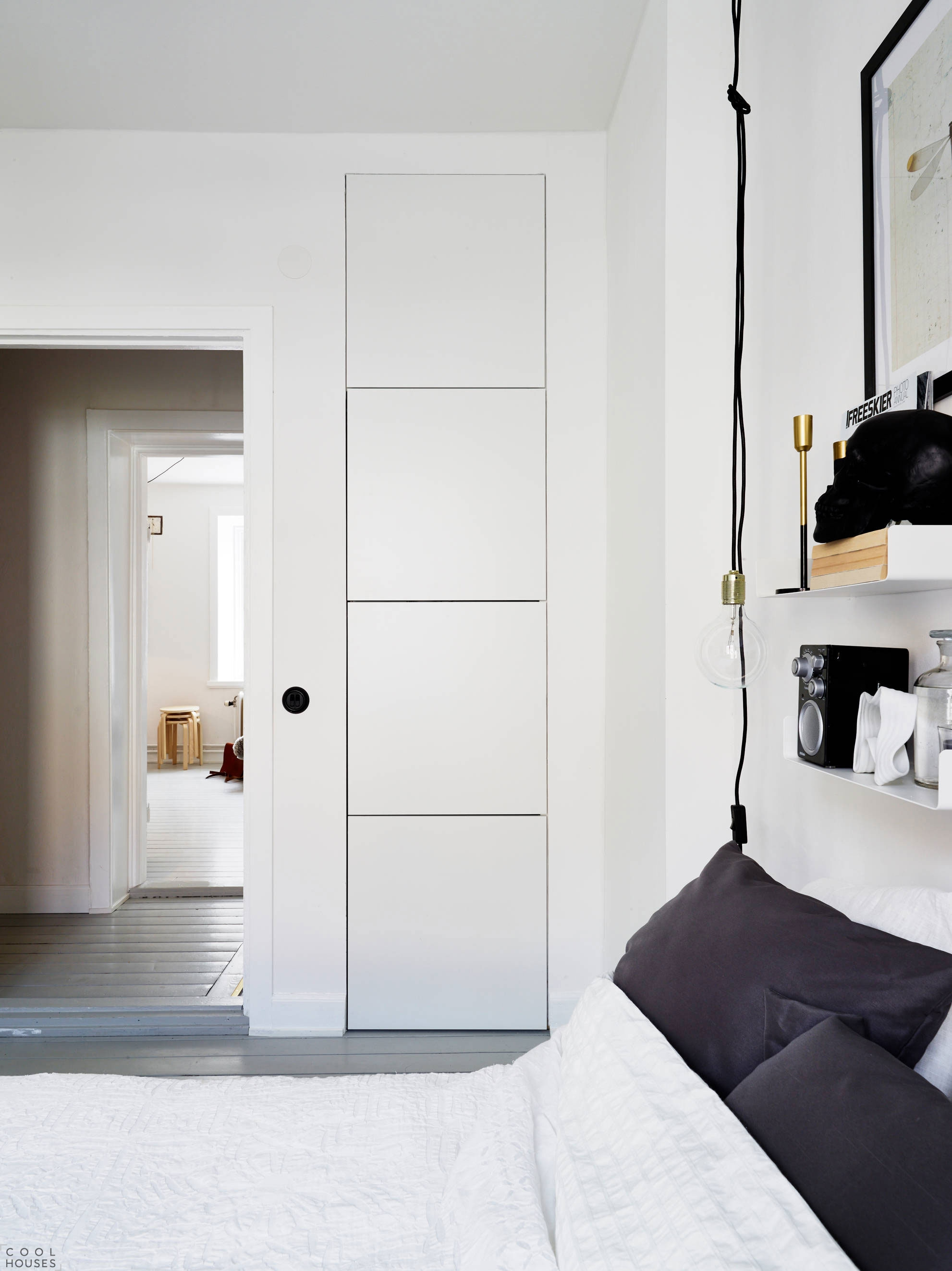 Красива малогабаритная квартира в Швеции