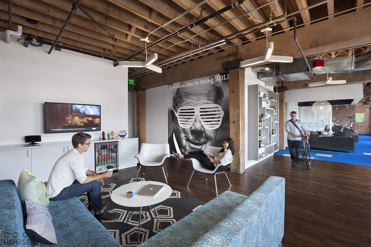 Новый офис компании Adobe в Сан-Франциско