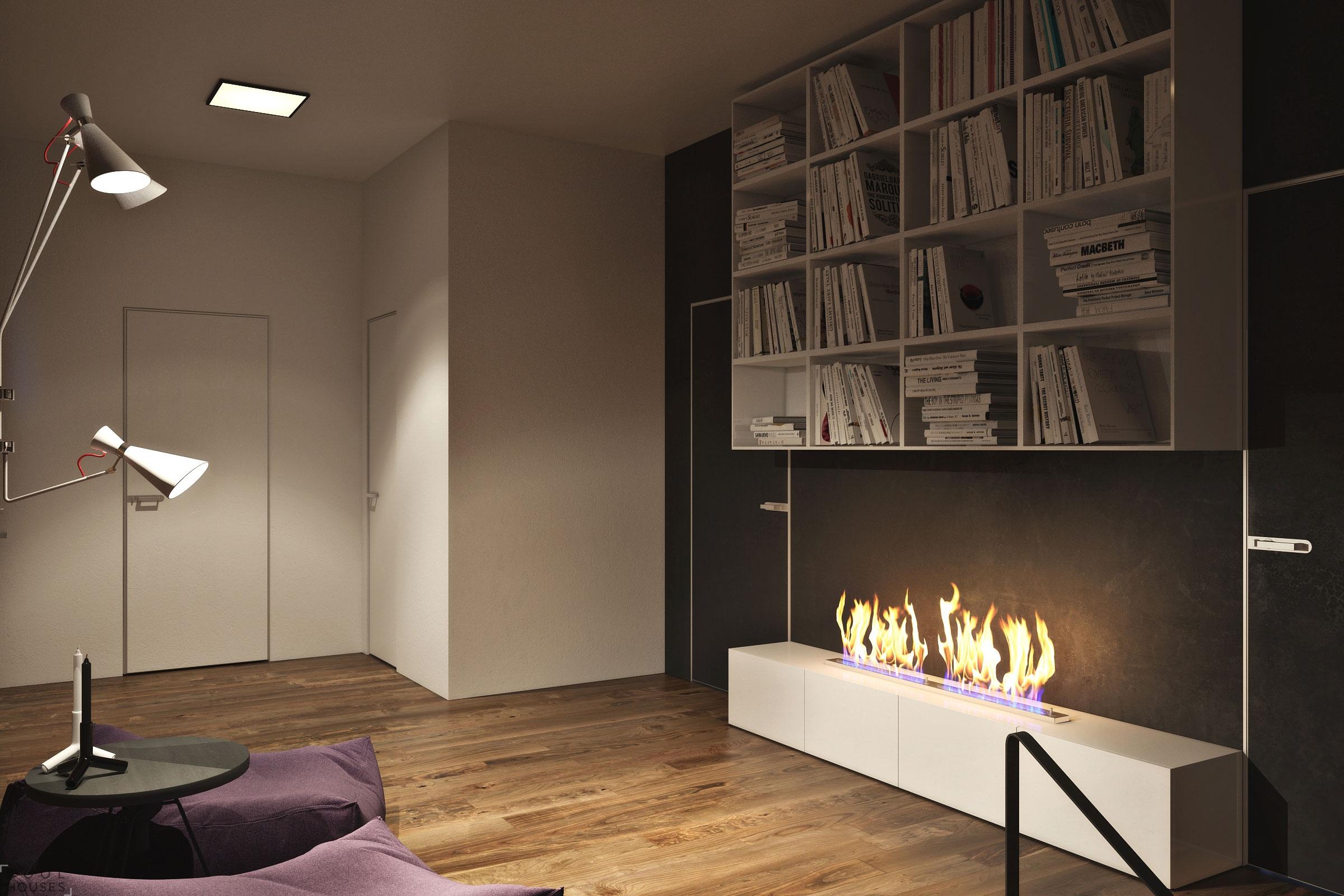 Проект стильной квартиры в Киеве