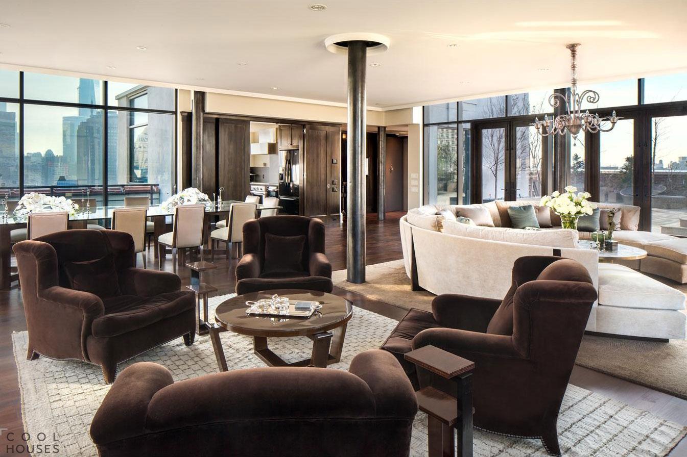 Роскошный пентхаус в Нью-Йорке за 37.5$ млн.