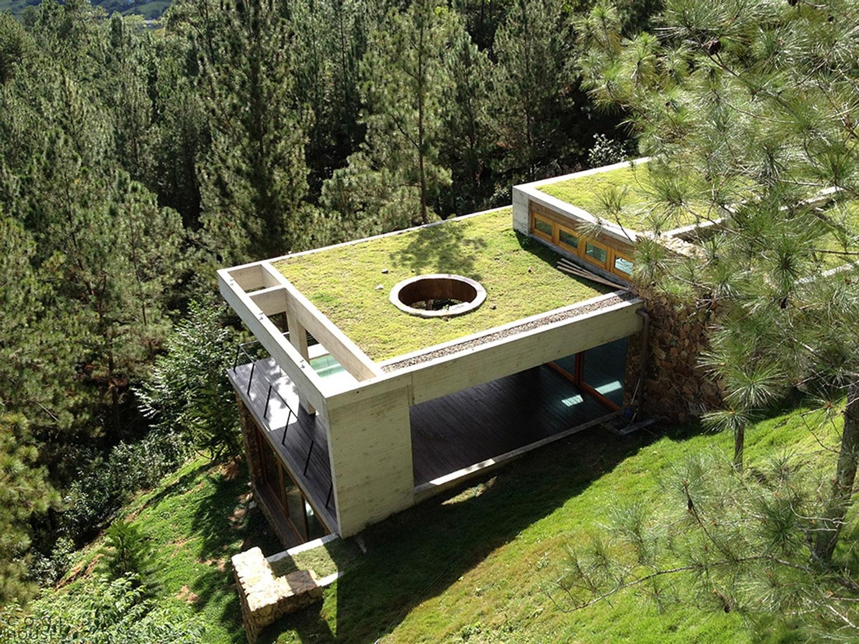 """Современный дом на высоком холме в городе """"вечной весны"""" Харабакоа"""