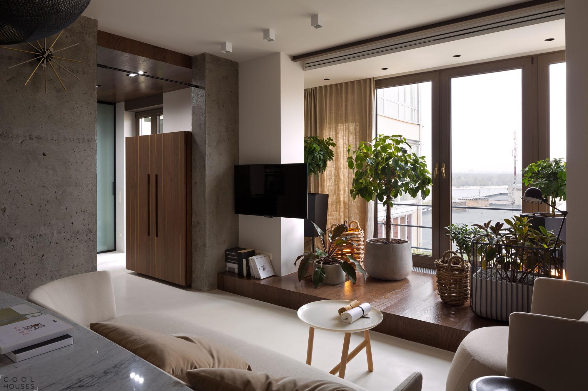 Уютный дизайн квартиры в Киеве от Ольгой Акуловой