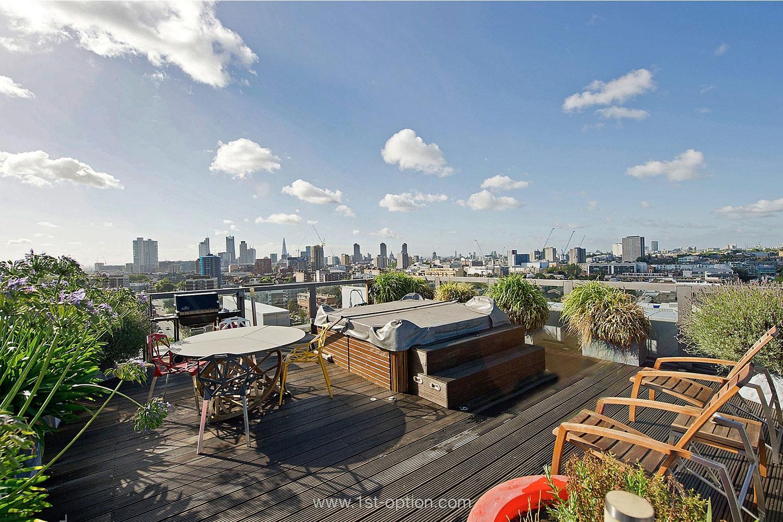 Великолепная квартира с отличным видом на Лондон