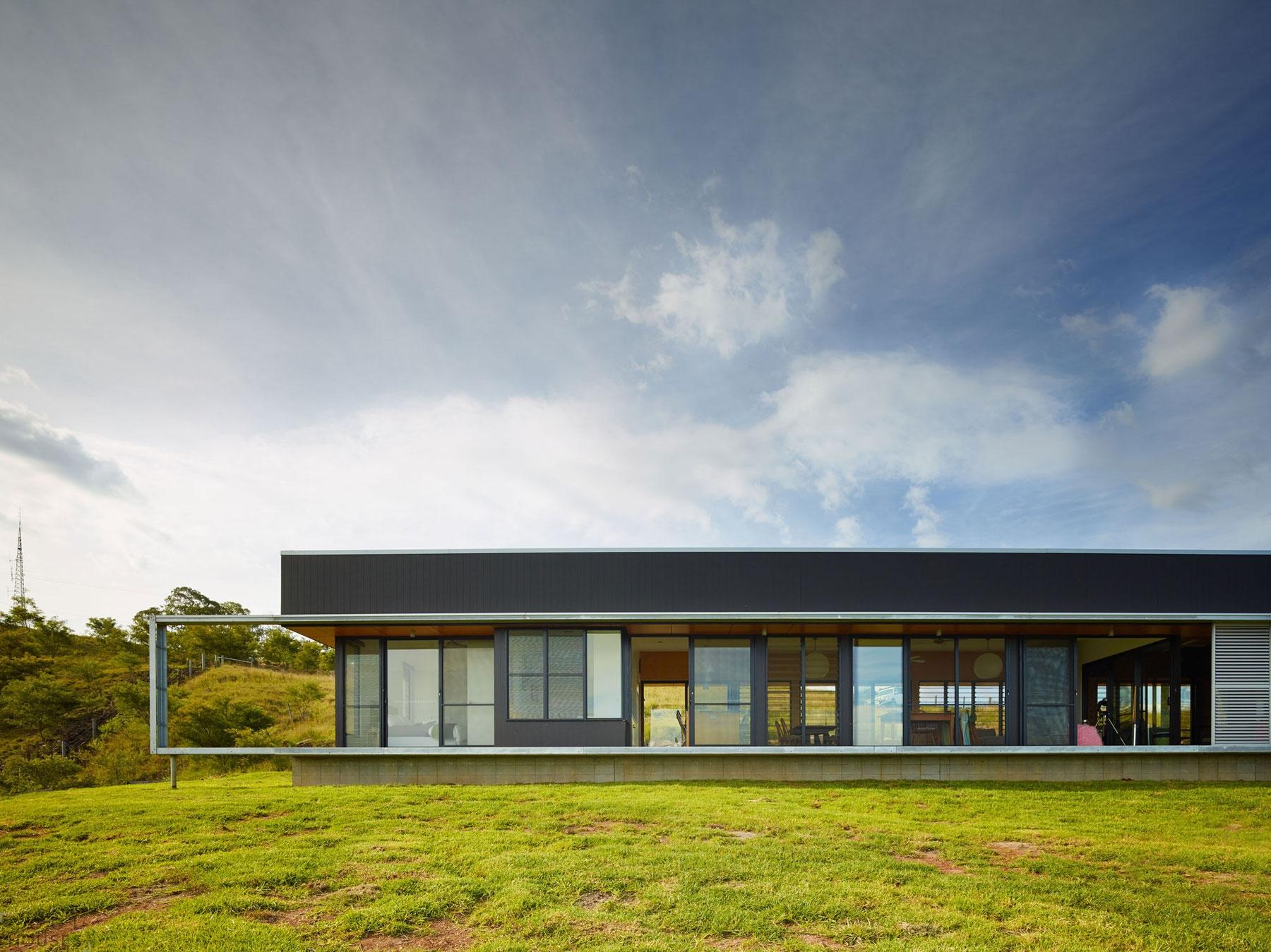 Одноэтажный частный особняк Boonah в Квинсленде, Австралия